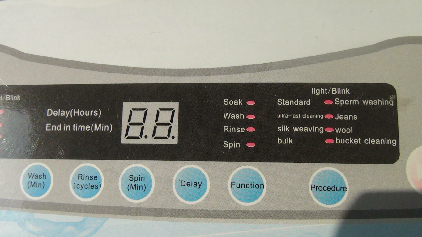 Chinese washing machine – now with sperm washing function ...