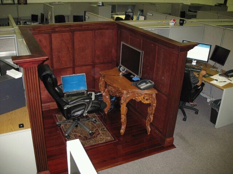 Awesomest cubicle ever