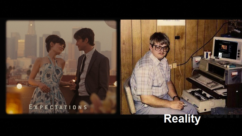 The weekend: expectations vs. reality