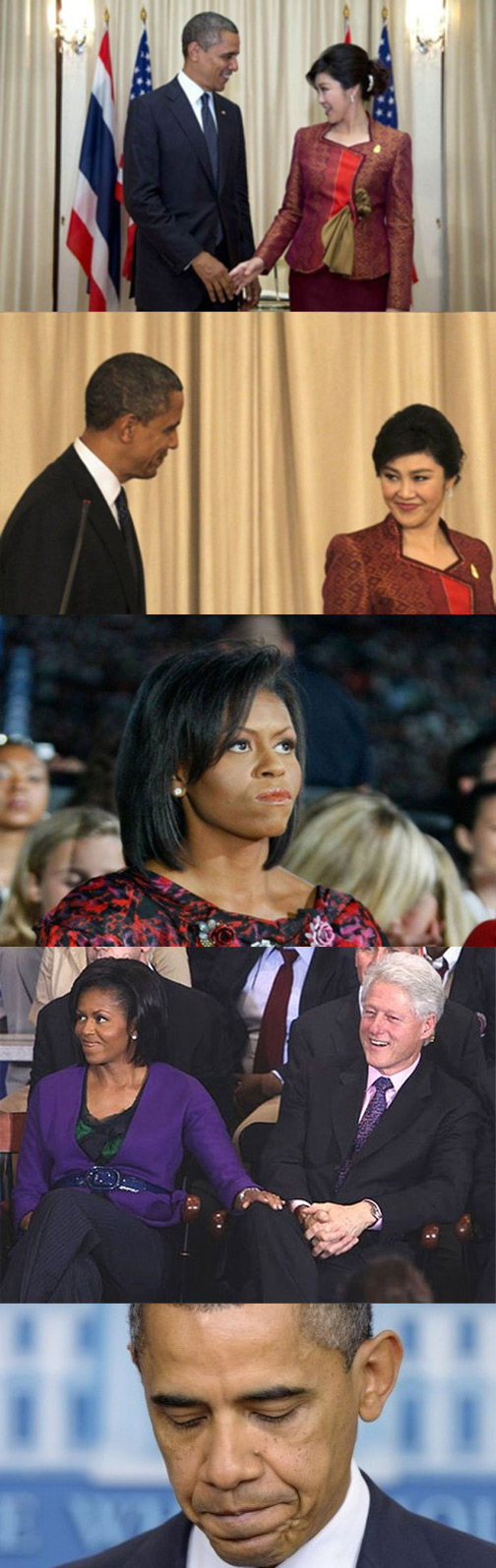 Michelle Obama gets even with the president