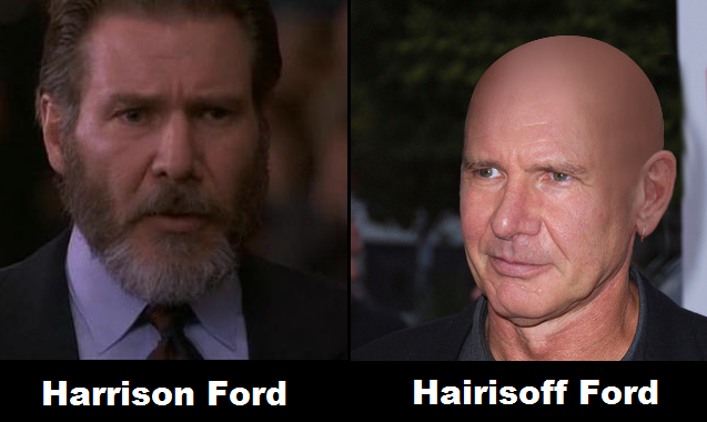 Harrison Ford - Hairisoff Ford