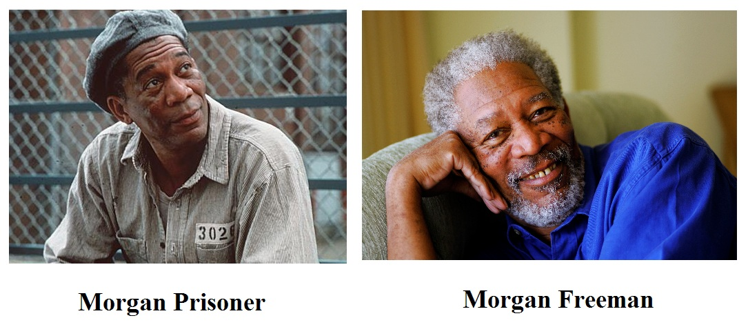 Morgan Freeman vs. Morgan Prisoner