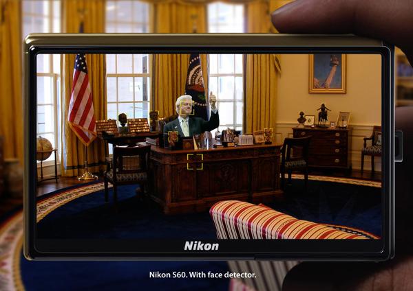 Nikon epic face recognition Clinton