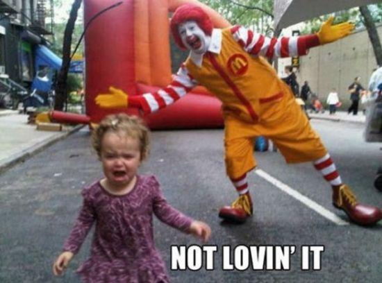 Not lovin' it...