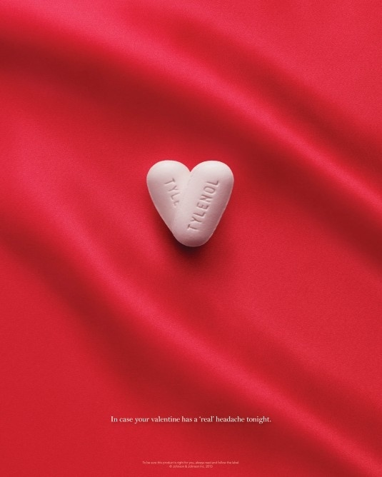 Tylenol Ad Mocked Frigid Women On Valentine S Day Funny Cracks Com