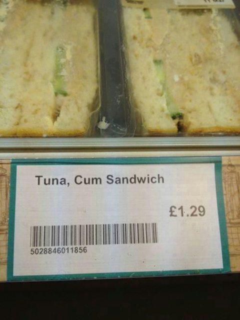 Tuna cum sandwich