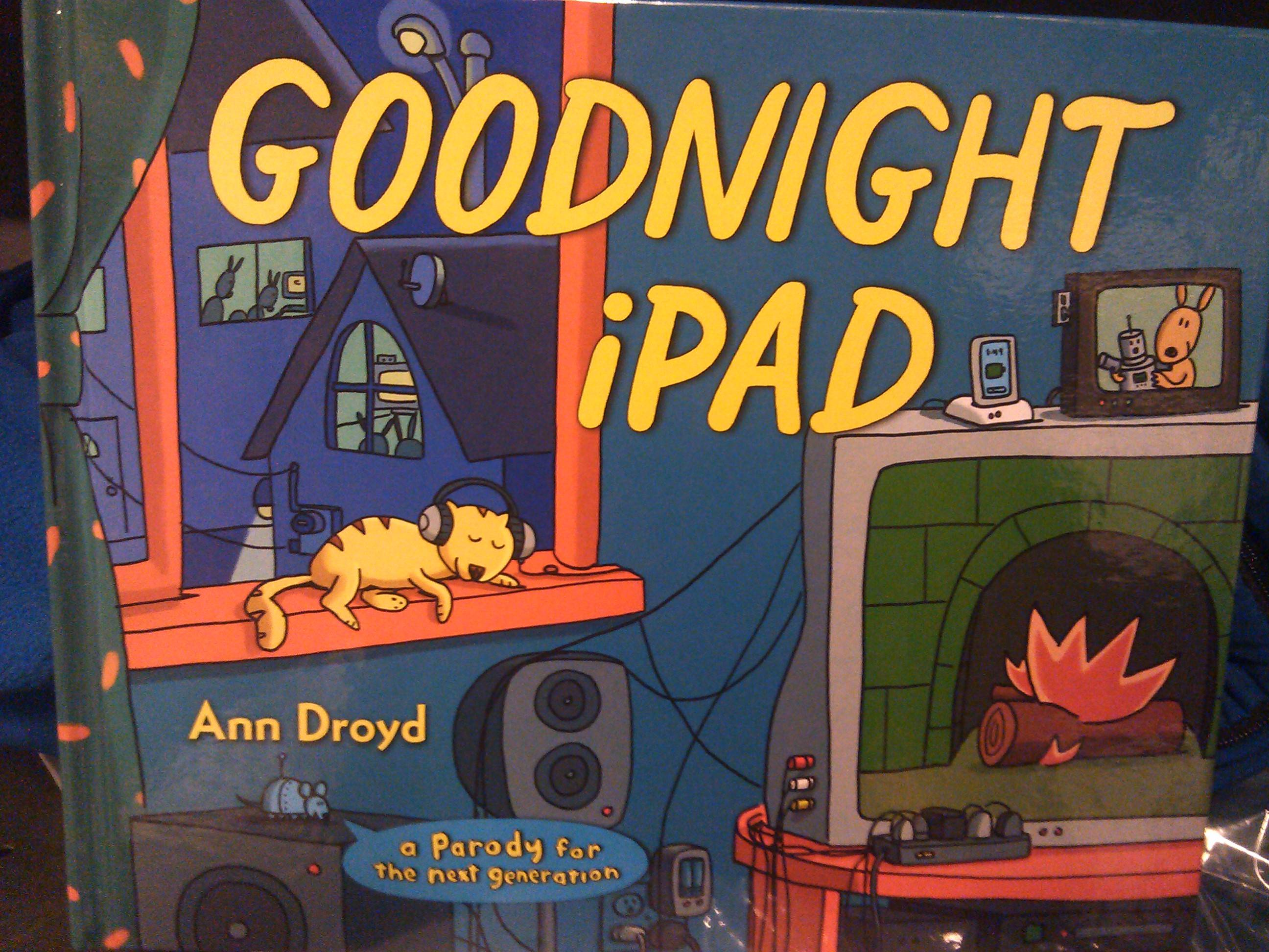 Goodnight ipad written by WAIT! Who?!