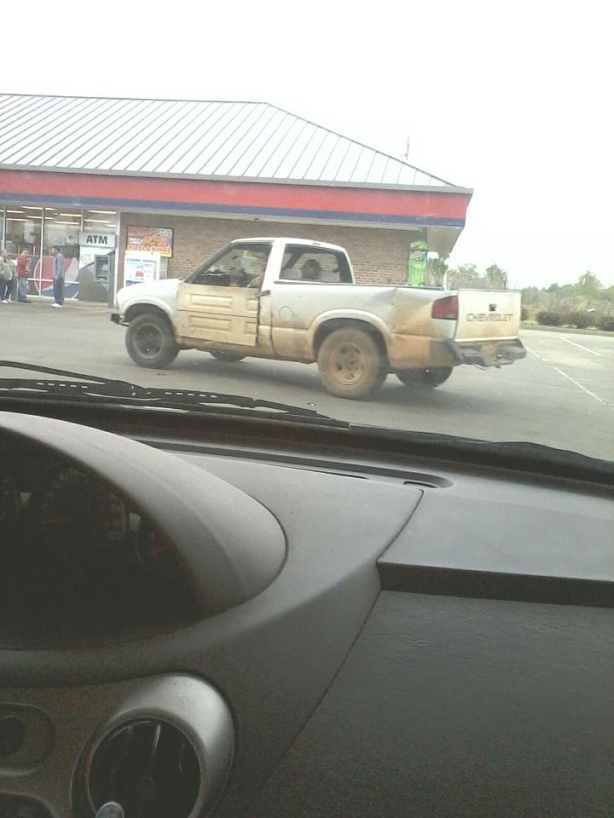 Here we see Redneck Ingenuity in the wild