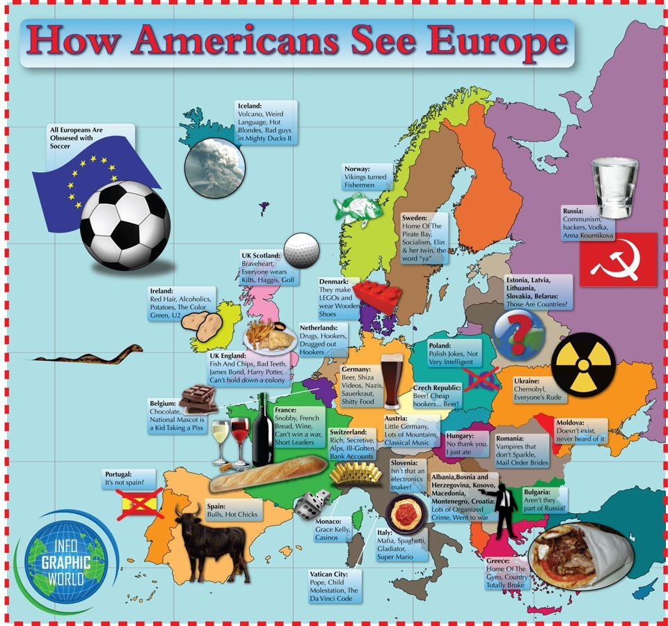 How Americans see Europe [updated]