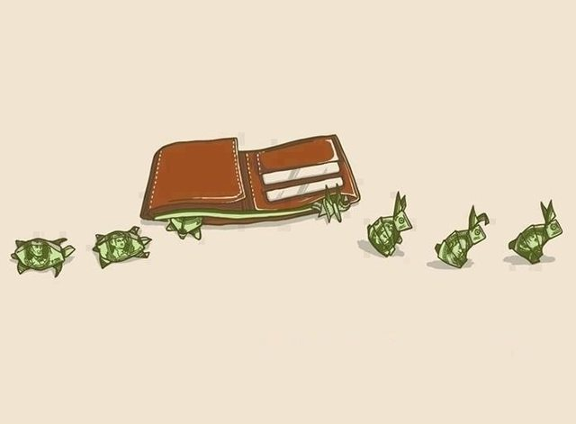 This explains how i handle my money...
