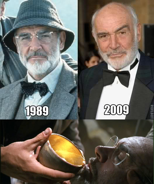 Why Sean Connery never ages