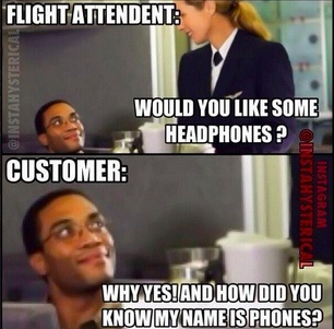Would you like to get some headphones?
