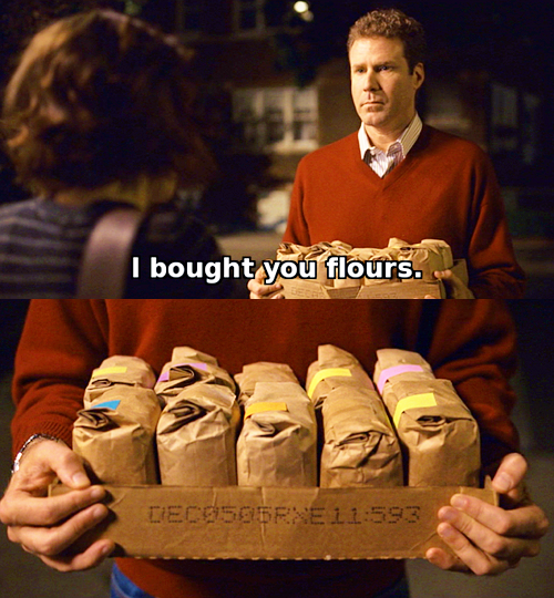 Happy Mother's Day. I bought you flours