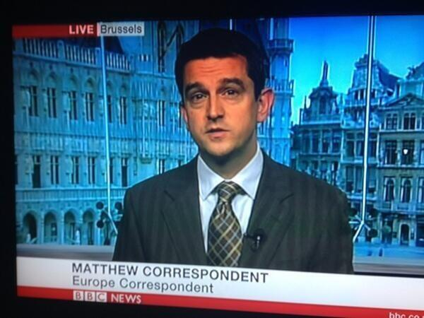 Best name for a BBC news correspondent