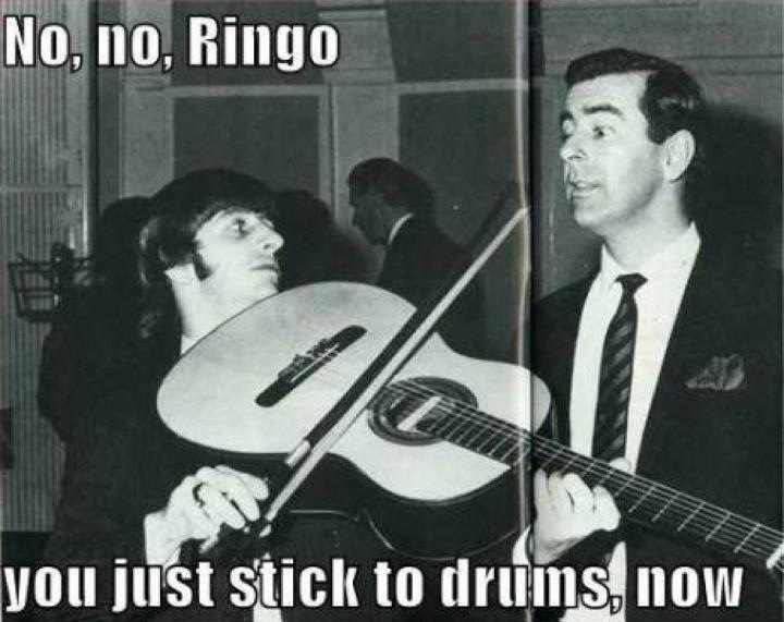 Why and how Ringo Starr became a drummer...