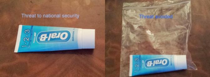 Airport security logic