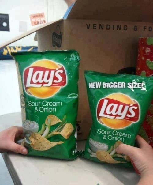 Yeah, Lays, that really seems legit...