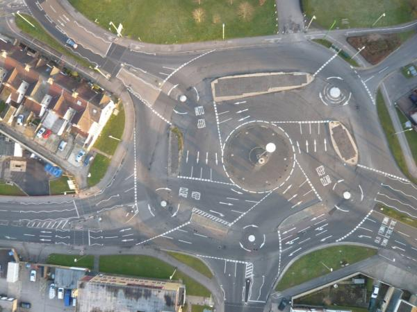 A Junction In England Because- Fuck You