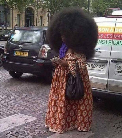 Afro-h my god