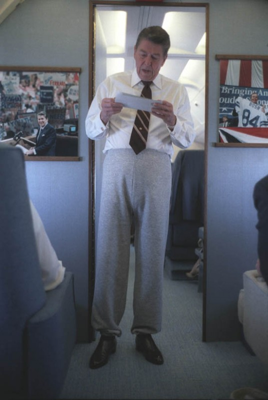 Presidential casual Friday