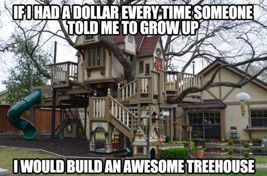 Awesomest treehouse I have ever seen