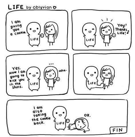 Life isn't very fair sometimes