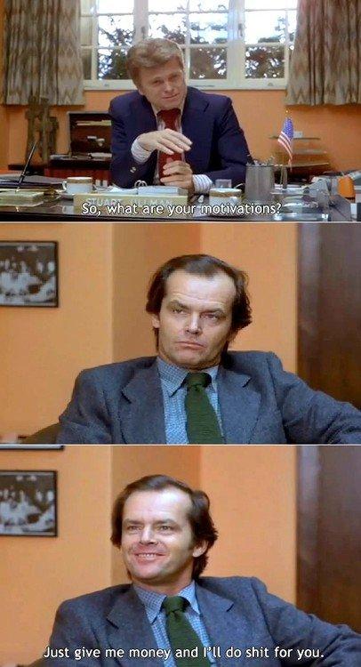 Me during a job hunt