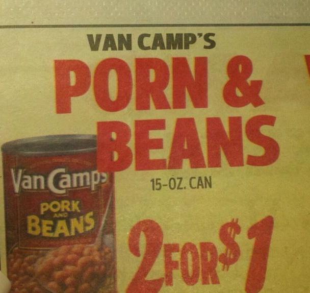 Small typo in local paper