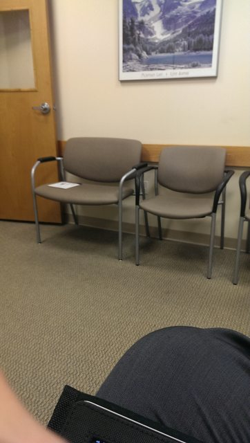 If you have a lot of obese patients, you need chairs like these...