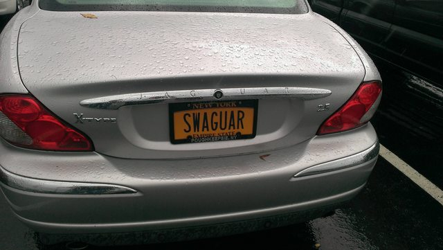 Must be Tom Haverford's car...