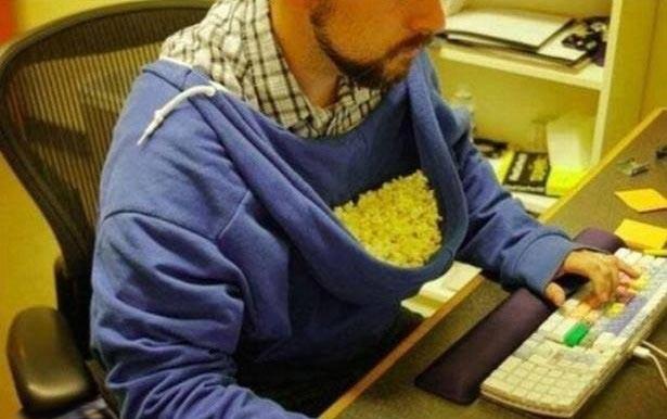 The real purpose of hoodies