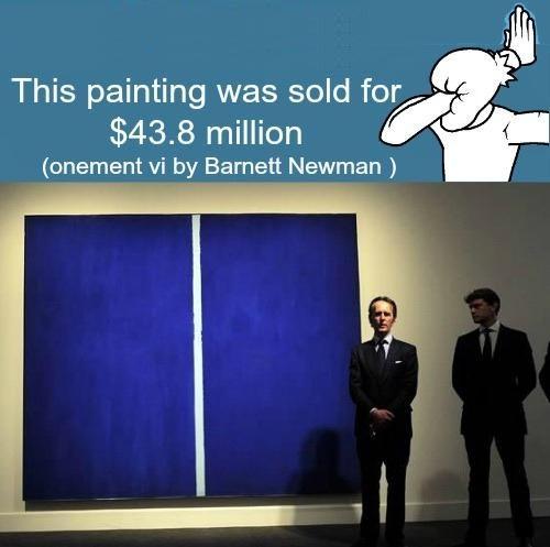 I hate art