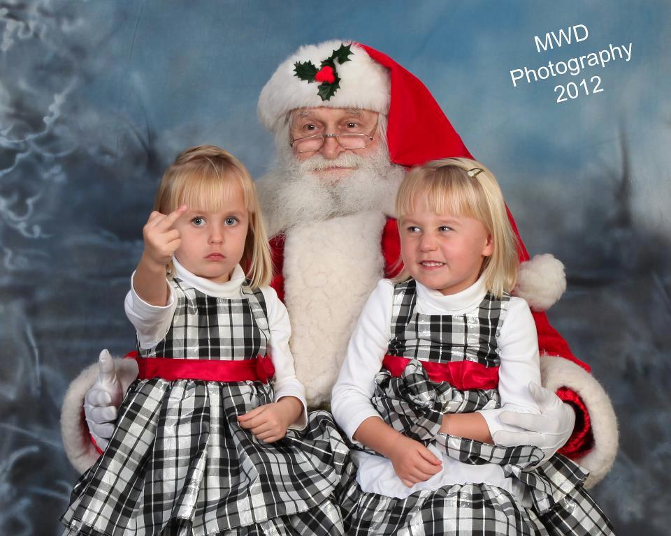 By and far my favorite Santa Portrait