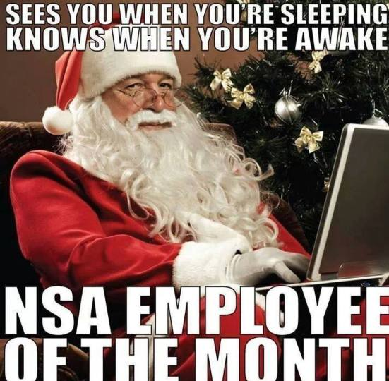 NSA employee of the month December
