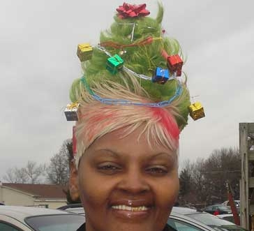 Oh Christmas weave, oh Christmas weave...