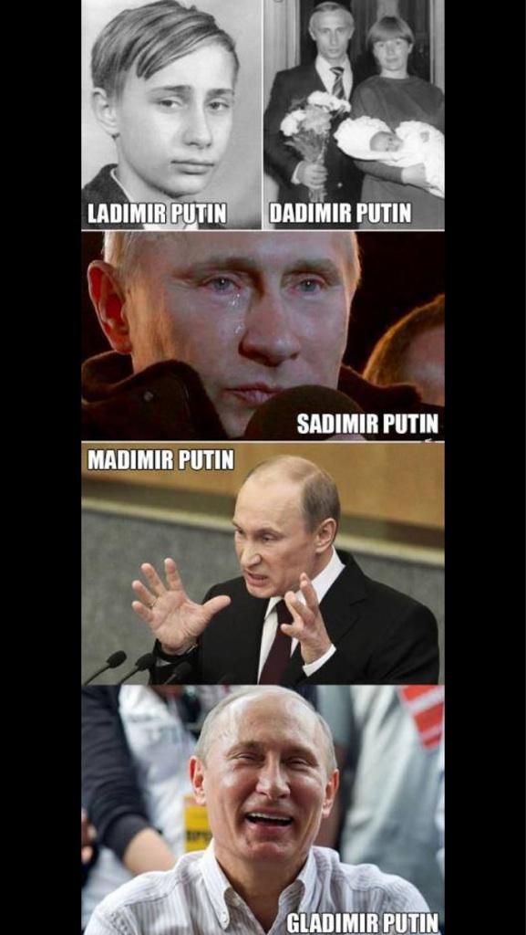 Putin puns
