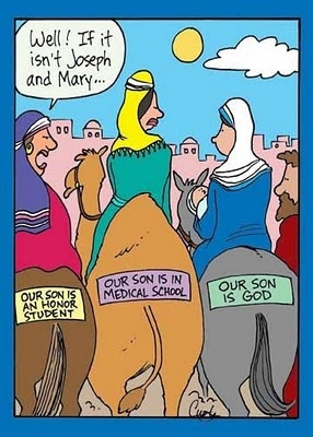 Well if it isn't Joseph and Mary...