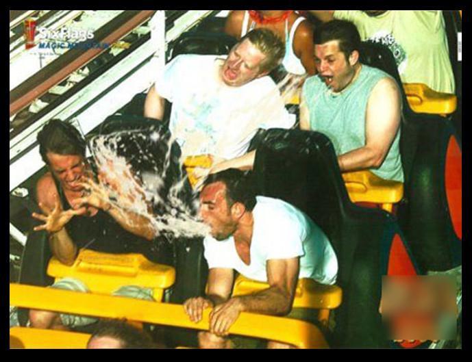 75% of people don't enjoy Magic Mountain