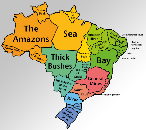 brazilian states translated