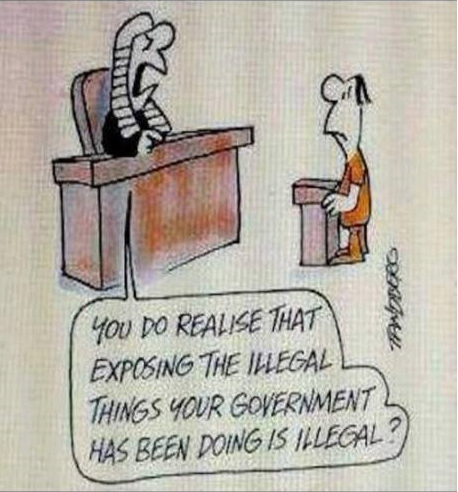 Exposing Illegal Things