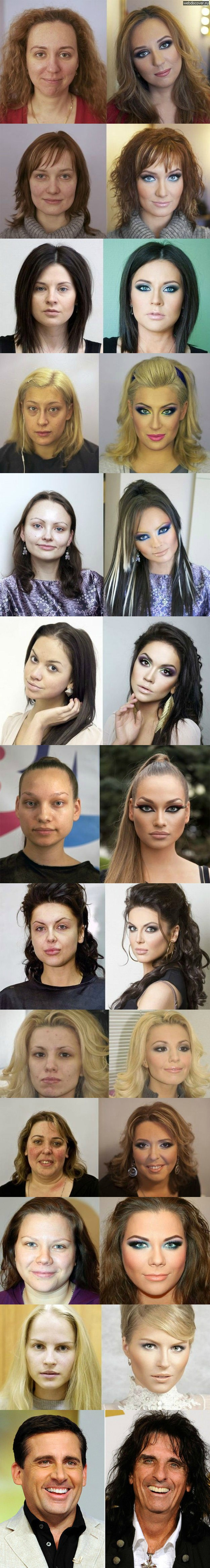 How Make-up can really transform people