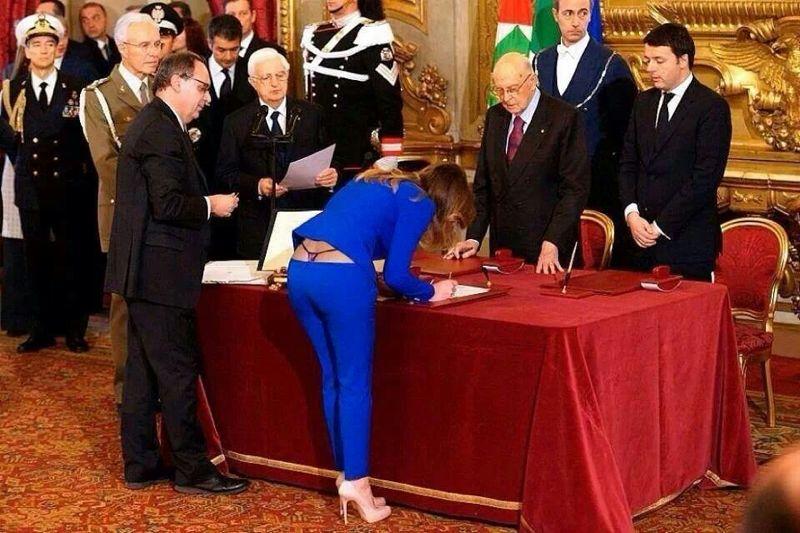 Italian Minister Mary Bosch!