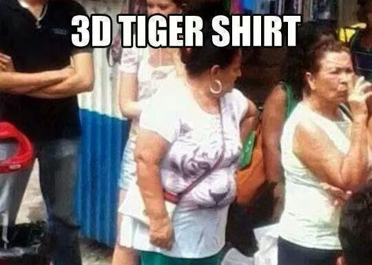 3D Shirt - very realistic effect...
