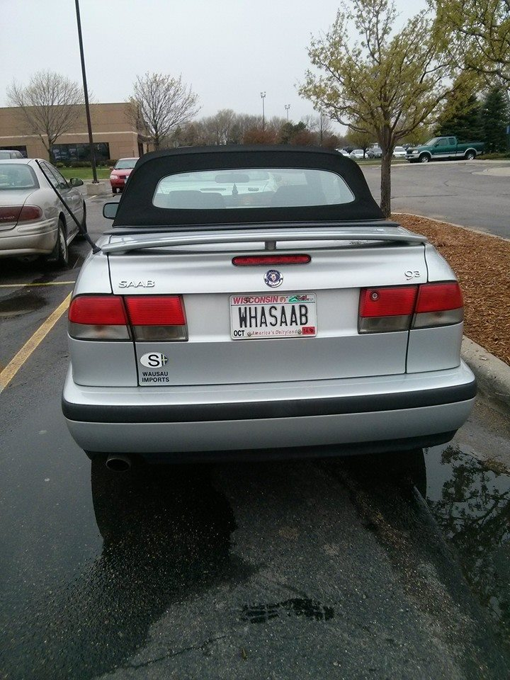 Clever Saab owner