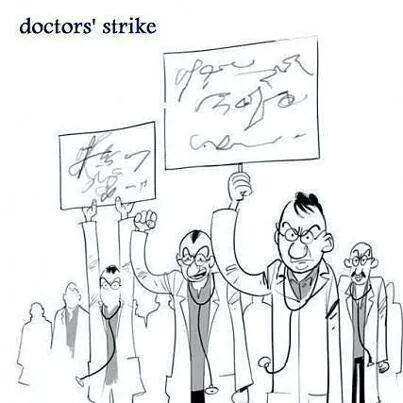 Doctor's strike