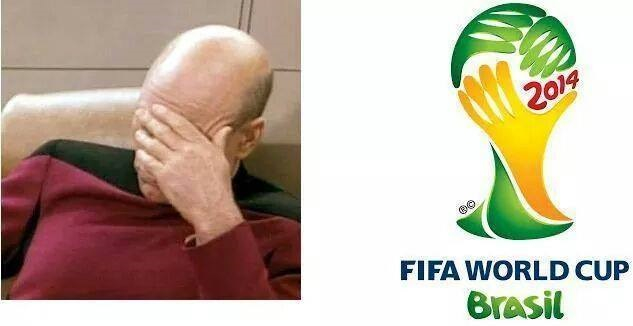Fifa World Cup facepalm