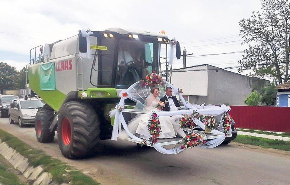 Wedding in rural Romania