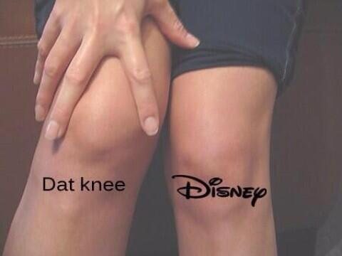 What knee?