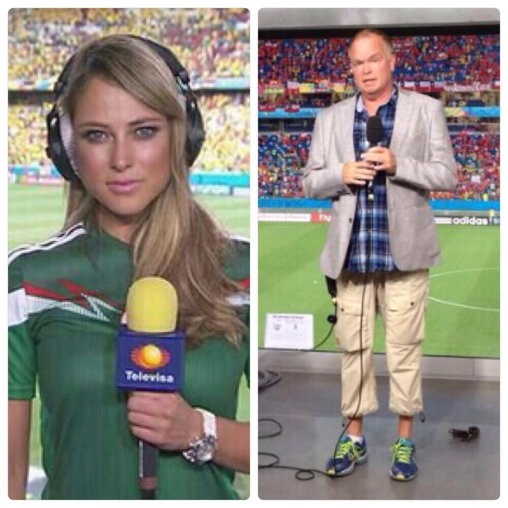 Fifa reporters. Mexico vs Sweden