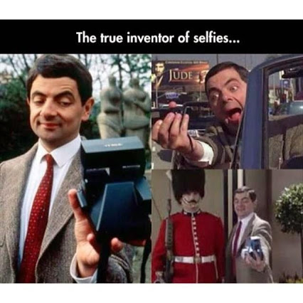 Mr. Bean did it first
